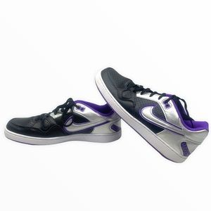 ❤️ Nike Women's Air Force One Son of Force Sneakers Purple Silver